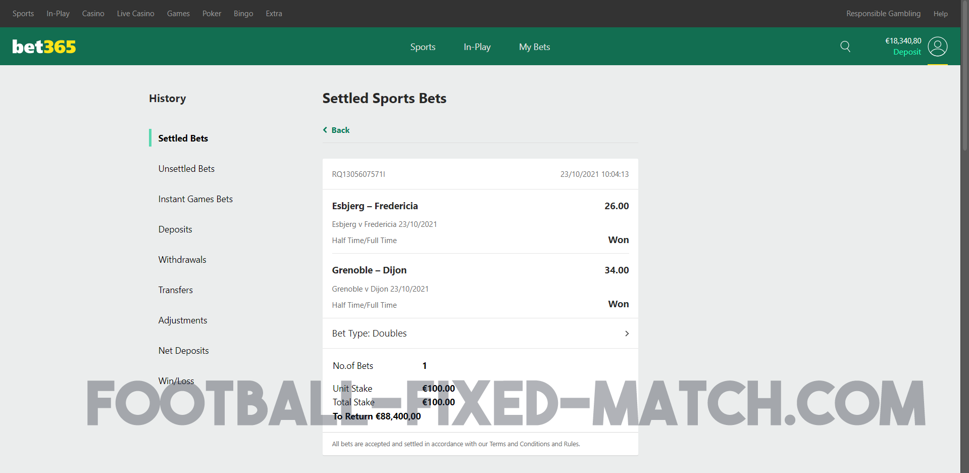 TODAY HT FT FIXED MATCHES